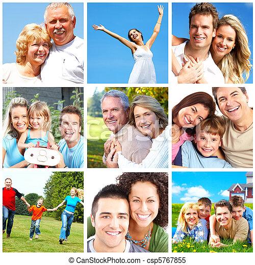 Šťastné lidi - csp5767855