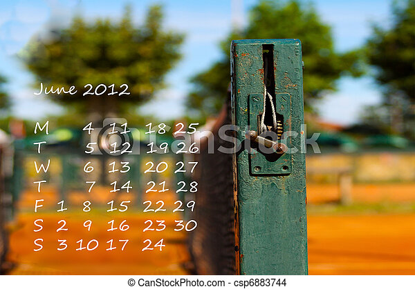 Calendar 2012 - csp6883744
