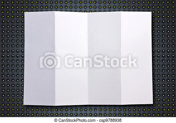 grafické pozadí., neposkvrněný, noviny, čerň - csp9788938