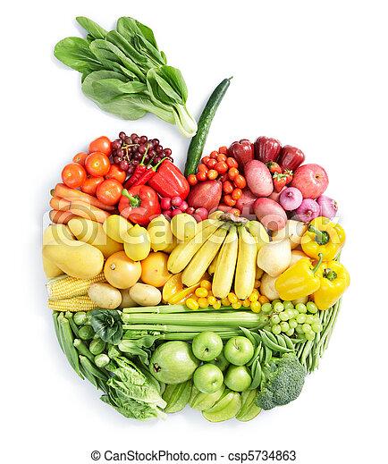 Jablko: zdravé jídlo - csp5734863