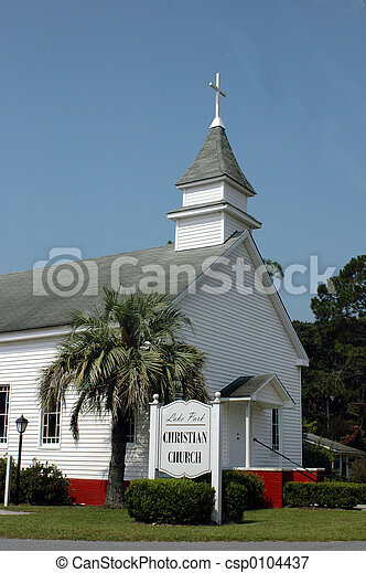 křesťanský, církev - csp0104437