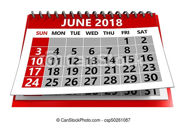 Kalendář 2018 - csp50261087