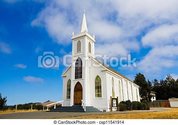 maličký, církev, neposkvrněný - csp11541914