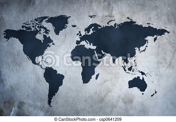 mapa, dávný - csp0641209