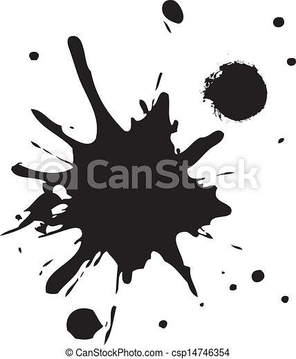 neposkvrněný, pokaňkat, temný grafické pozadí - csp14746354