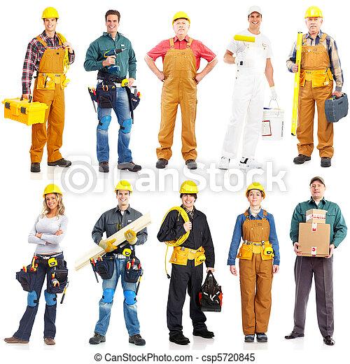 Obchodníci pracujících - csp5720845