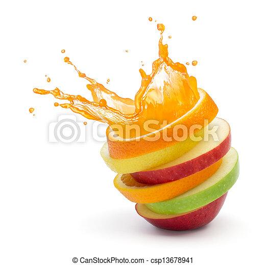 Ovocný punč - csp13678941
