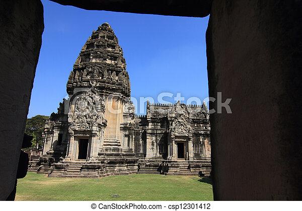 prasat, thajsko, phimai - csp12301412