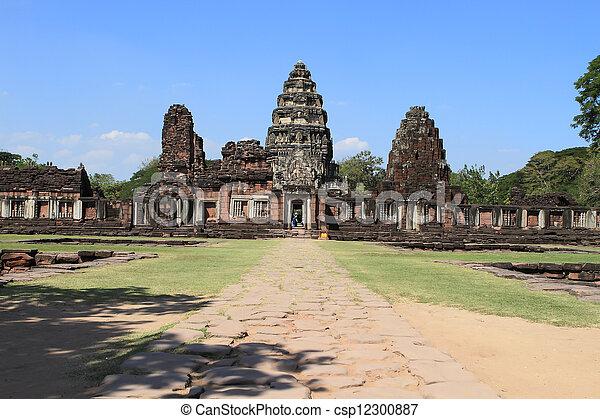 prasat, thajsko, phimai - csp12300887