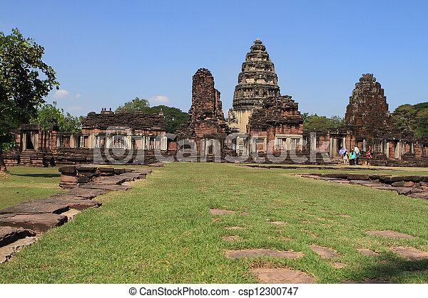 prasat, thajsko, phimai - csp12300747