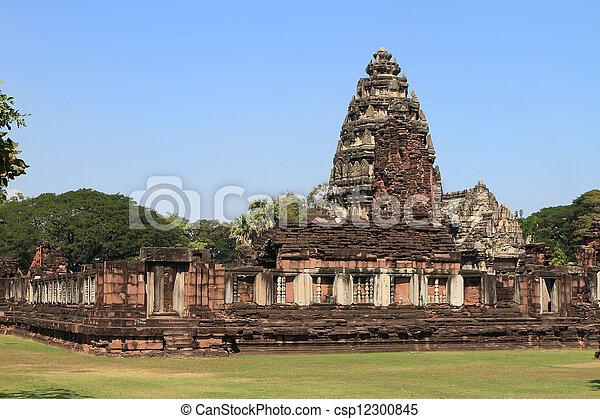 prasat, thajsko, phimai - csp12300845