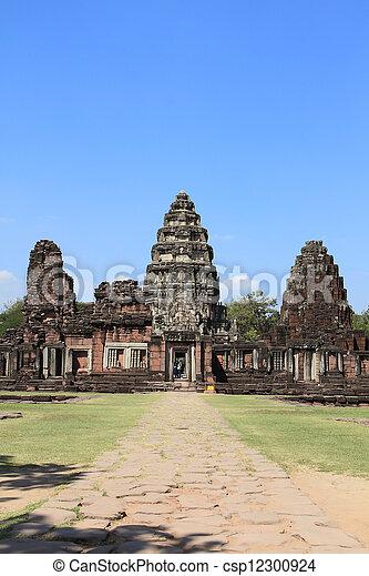 prasat, thajsko, phimai - csp12300924