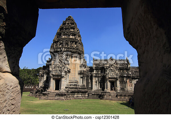 prasat, thajsko, phimai - csp12301428