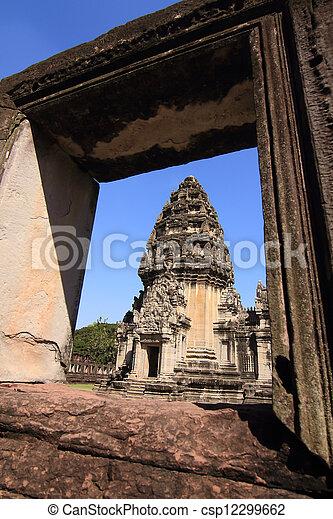 prasat, thajsko, phimai - csp12299662