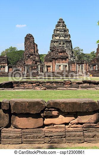 prasat, thajsko, phimai - csp12300861