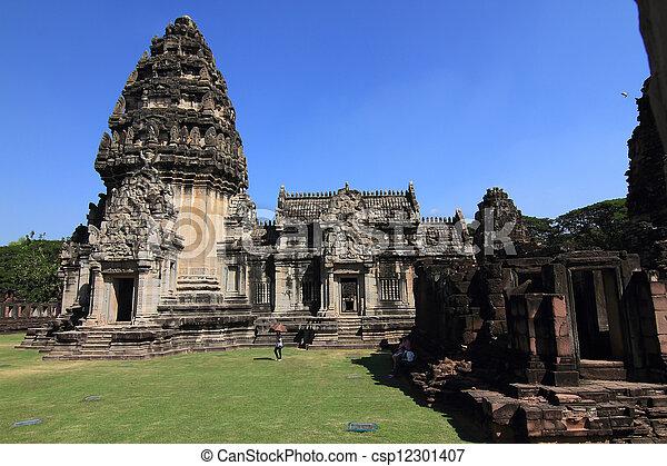 prasat, thajsko, phimai - csp12301407