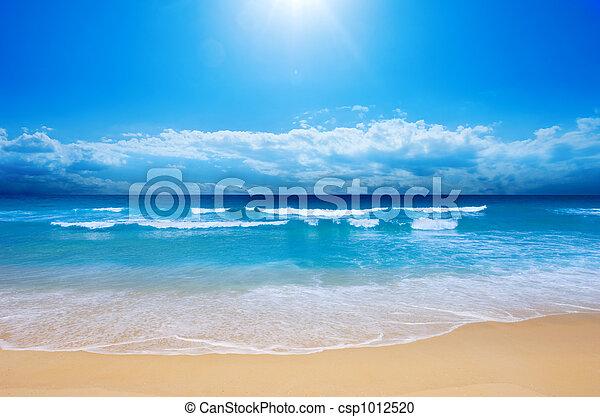 Rajská pláž - csp1012520