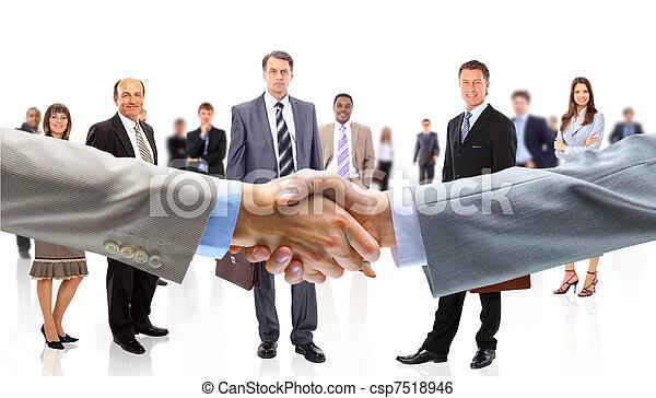 ruce, národ povolání, otřes - csp7518946