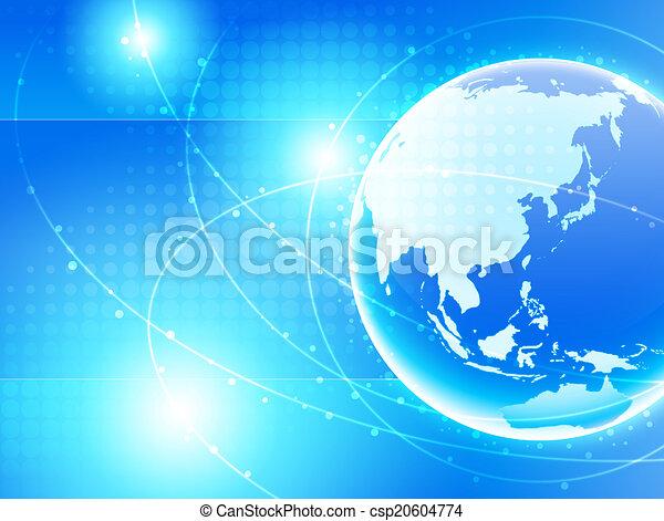 síť, asie - csp20604774