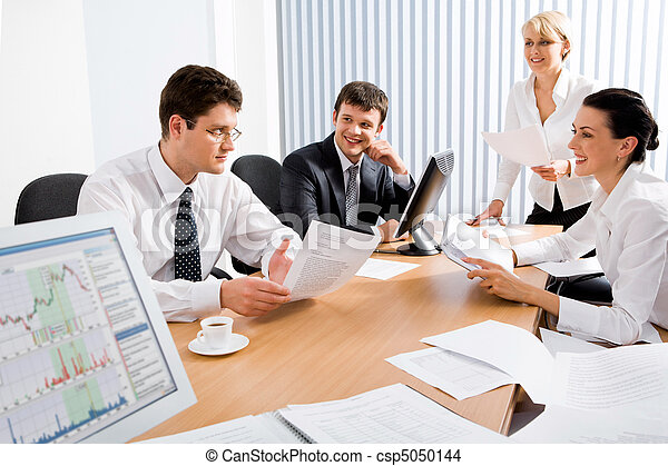 setkání, povolání - csp5050144