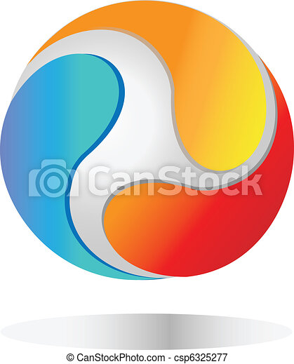 společnost, emblém - csp6325277