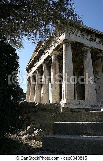 starobylý, chrám - csp0040815