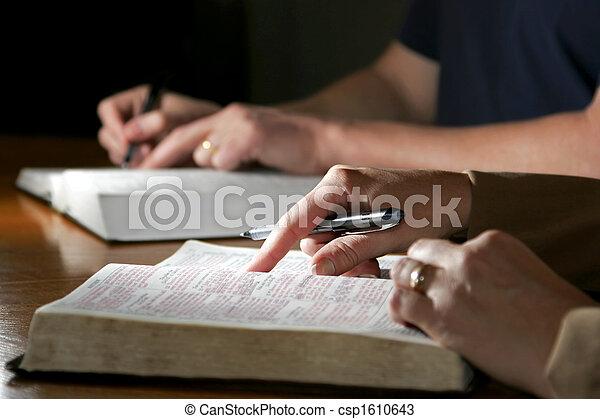 Studium v Bibli - csp1610643