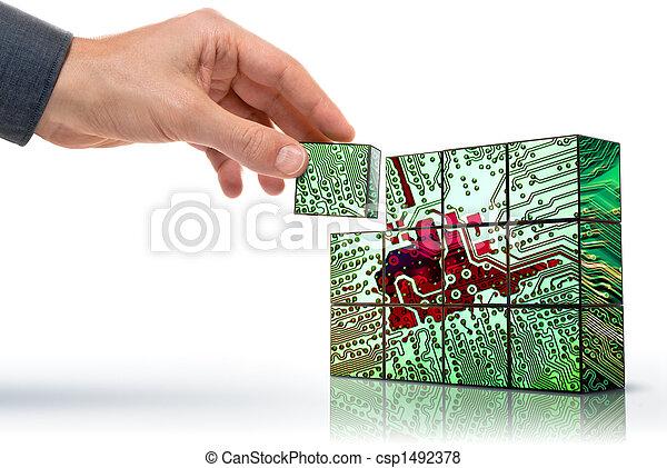 technika, stvořit - csp1492378