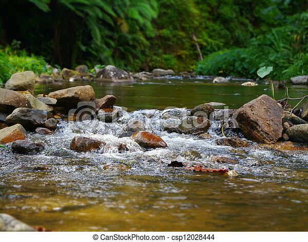 vodopád, malý - csp12028444