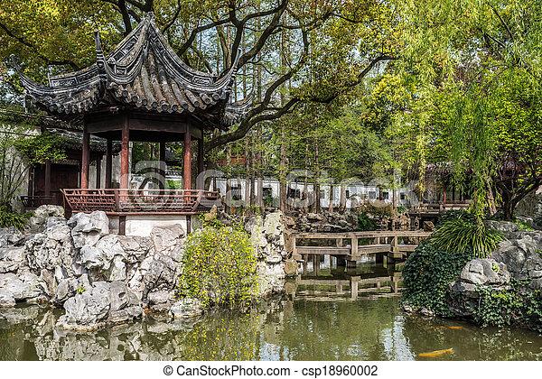 Yuyuanská zahrada shanghai - csp18960002