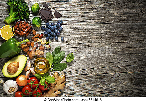 Zdravé jídlo - csp45614616