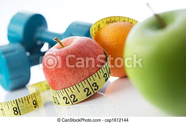 Zdravý život a jídlo - csp1612144