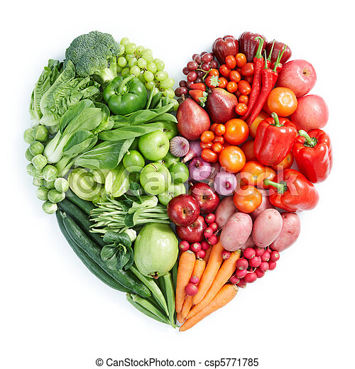 zdravý food, mladický ryšavý - csp5771785