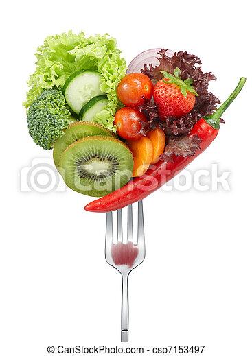 zelenina, láska - csp7153497